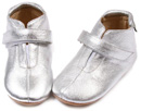 Petit, Leather slipper, gold or silver