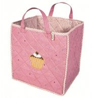toybag with gingerbread cupcake applique