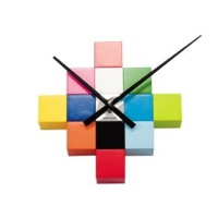 Karlsson Do It Yourself Cubic Wall Clock