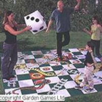 giant snakes and ladders outdoor game