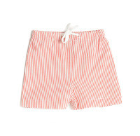 Caramel Baby and Child Red Stripe Swim Shorts