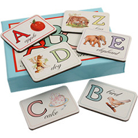 Cavallini Magnets - Alphabet