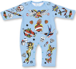 tattoo sleepsuit