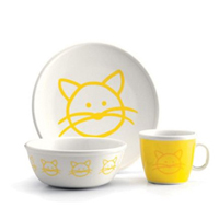 Bodum Yellow Cat Kids Set