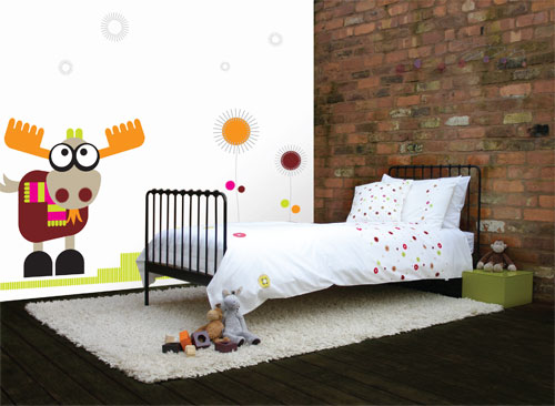little billie wall murals