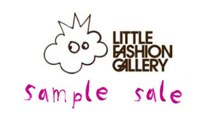 Little Fashion Gallery logo for sample sale