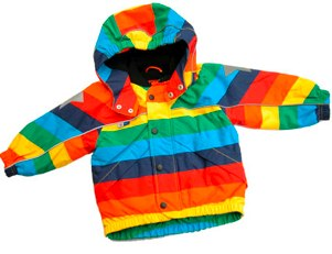 Molo 'Arctic' Rainbow Jacket