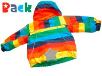 Molo 'Arctic' Rainbow Jacket - back
