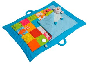 Lilliputiens Patchwork Sleeping and Playmat