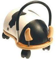 cow wheely bug by hippychick