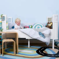 kily bed in white as a super stylish junior bed