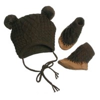 Hat & Bootie Set by egg