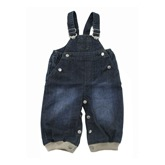Mini A Ture Derry Dark Denim Dungarees
