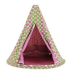 tent with aisha pattern 