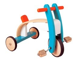 Hot Buy! Plan Toys Wooden Trike