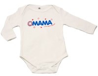 OMAMA Fairtrade and Organic cotton Baby Vest