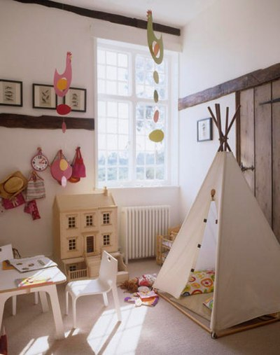 Kids Playroom from Living Etc April 2007