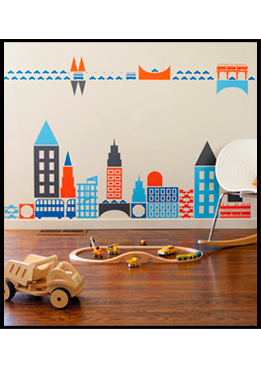 Wall Sticker & Decal Favourites for Children's Spaces