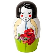Money Bank Russian Dolls Matryoska Maxim