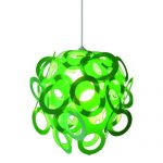 Loopy Lu Green Lampshade