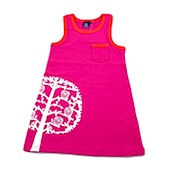 ej sikke lej owl In Tree Cerise A Shaped Summer Dress
