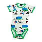 ej sikke lej Farmer Baby Cotton Microrib Long Sleeved Body