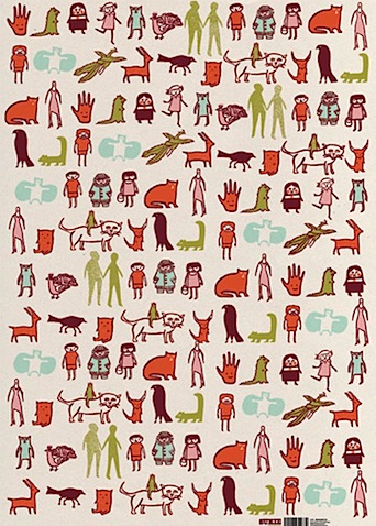 sukie 0473 wrapping paper