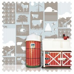 Decor Decisions with Mini Moderns Wallpaper