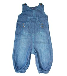 ej sikke lej soft denim playsuit