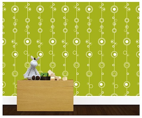 Two Rolls of Olli & Lime wallpaper worth £74