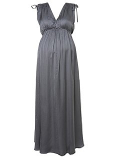 topshop Maternity Silk Maxi Dress