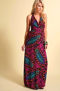 ASOS MATERNITY Paisley Maxi Dress