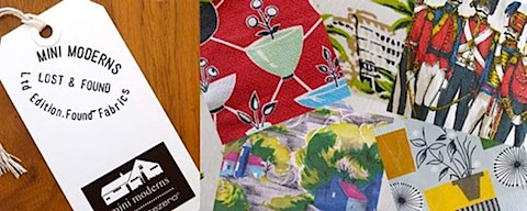 mini moderns lost and found cushions