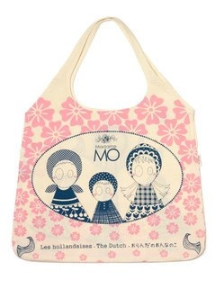Les Hollandaises madame mo shopping bag