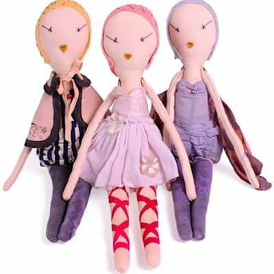 Limited Edition Jess Brown and Wovenplay Dolls