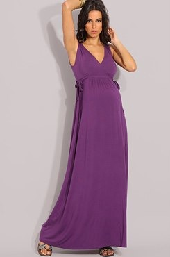 ASOS MATERNITY Exclusive Wrap Front Maxi