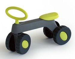 hoppop otto trike lime and grey