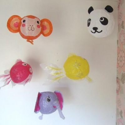 Japanese Paper Balloons from Petra Boase