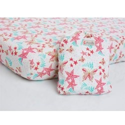 Butterfly Fitted Crib Sheet by Picallily