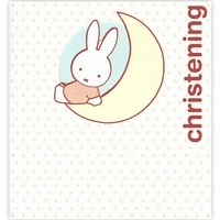Miffy Christening Greeting Card