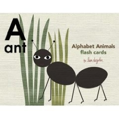 Alphabet Animals Flash Cards by lisa dejohn