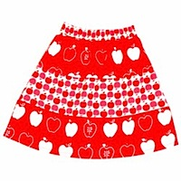 Boho Skirt Red Boho Skirt Red by Aunty Ollie