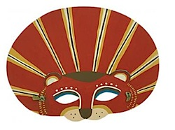 lion mask by zid zid