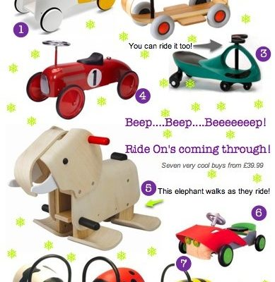 Bambino Goodies Christmas Gift Guide: Ride On Toys for Babies & Toddlers
