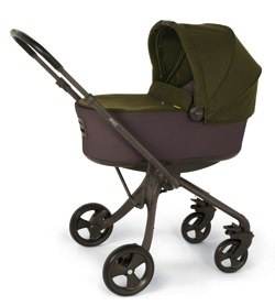 milo carrycot Grey khaki