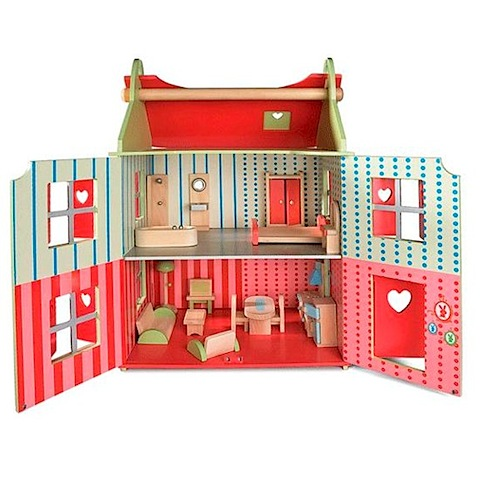 janod doll house open