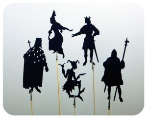 fairytale shadow puppets