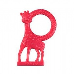 Sophie Vanilla Teether red