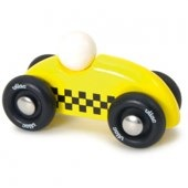 Mini Rally Car, Yellow by vilac