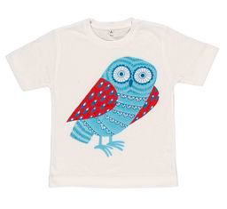 alice melvin t-shirt featuring owl